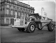 28/03/1956.03/28/1956.28 March 1956.Caterpiilar tractor and dump trailer for Avoca mines supplied by S. McCormick Ltd.
