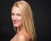 Tara Hutton poses for her headshot at Bay Pointe Ballet in South San Francisco, California, on September 21, 2015. (Stan Olszewski/SOSKIphoto)