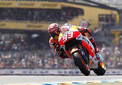 17.05.2015, Circuit, Le Mans, FRA, MotoGP, Grand Prix von Frankreich, im Bild 93 Marc Marquez / Spanien // during the MotoGP Monster Energy France Grand Prix at the Circuit in Le Mans, France on 2015/05/17. EXPA Pictures © 2015, PhotoCredit: EXPA/ Eibner-Pressefoto/ Stiefel<br /> <br /> *****ATTENTION - OUT of GER*****