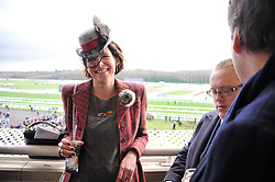 THOMASINA MIERS at the 2012 Hennessy Gold Cup at Newbury Racecourse, Berkshire on 1st December 2012