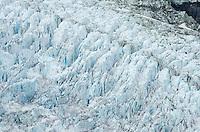 Heavily crevassed Robson Glacier, Mt. Robson Provincial Park British Columbia Canada