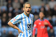 Coventry City midfielder Joe Cole during the Sky Bet League 1 match between Coventry City and Oldham Athletic at the Ricoh Arena, Coventry, England on 19 December 2015. Photo by Alan Franklin.