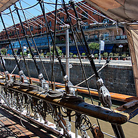 """The Frigate """"Presidente Sarmiento"""" was constructed in England and designed for training purposes."""