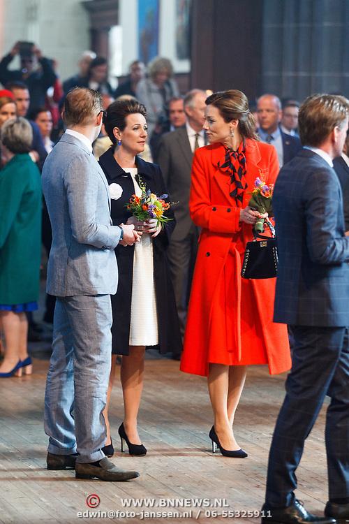 NLD/Groningen/20180427 - Koningsdag Groningen 2018, Aimee Sohngen en Annette Sekreve