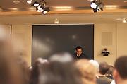 Franz Reynold, SAG Foundation New York Program Director hosts the February 2011 Screen Actors Guild (SAG) Showcase event.