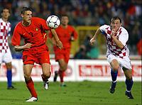 Fotball<br /> EM-kvalifisering<br /> 10.09.2003<br /> Belgia v Kroatia<br /> NORWAY ONLY<br /> Foto: Phot News/Digitalsport<br /> <br /> TIMMY SIMONS / IVICA OLIC