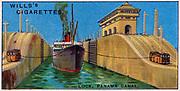 Engineering Wonders, 1927:  Lock on t he Panama Canal.