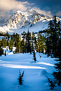 Mount Shuksan in Washington state's North Cascades National Park