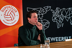 Tom van Kuyk (sponsor strategist Rabobank) during the talk show of the Dutch volleyball association. The association wants to start a professionalization process with which they want to strengthen recreational sport in the coming years on March 8, 2021 in Utrecht