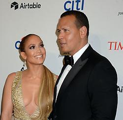 NEW YORK, NY - APRIL 24: Alex Rodriguez and Jennifer Lopez attend the 2018 Time 100 Gala at Jazz at Lincoln Center on April 24, 2018 in New York City....People:  Alex Rodriguez and Jennifer Lopez (Credit Image: © SMG via ZUMA Wire)