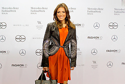 22.01.2016, Kosmos, Berlin, GER, Mercedes Benz Berlin Fashion Week, Herbst Winter 2016, im Bild Simone Ballack // during the Mercedes Benz Fashion Week Berlin Autumn Winter 2016 in Berlin, Germany on 2016/01/22. EXPA Pictures © 2016, PhotoCredit: EXPA/ Eibner-Pressefoto/ Eibner-Pressefoto<br /> <br /> *****ATTENTION - OUT of GER*****