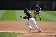 CHICAGO - SEPTEMBER 12:  Manny Ramirez #99 of the Chicago White Sox runs the bases against the Kansas City Royals on September 12, 2010 at U.S. Cellular Field in Chicago, Illinois.  The White Sox defeated the Royals 12-6.  (Photo by Ron Vesely)