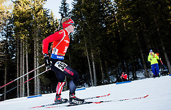 Scott Gow (CAN) during Men 12,5 km Pursuit at day 3 of IBU Biathlon World Cup 2015/16 Pokljuka, on December 19, 2015 in Rudno polje, Pokljuka, Slovenia. Photo by Vid Ponikvar / Sportida