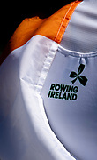 Plovdiv, Bulgaria, Sunday,  16th September 2018. FISA, World Rowing Championships,  IRL W1X Gold Medalist, PUSPURE, Sanita, Logo Rowing Ireland, Embroidered on her All-One Rowing Kit,<br />   © Peter SPURRIER, 16.09.18