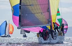 Clyde Cruising Club's Scottish Series 2019<br /> 24th-27th May, Tarbert, Loch Fyne, Scotland<br /> <br /> Day  1 - GBR4757R, Moonstruck Too, Gordon Lawson, Port Edgar, J122<br /> <br /> Credit: Marc Turner / CCC