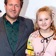 NLD/Utrecht/20180923 - Premiere Mamma Mia, Thijs van Aken en dochter