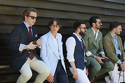 June 13, 2017 - Firenze, Italy - Event Pitti Immagine 92 at Fortezza da Basso.  International event for menswear and men accessories collections and for the launch of new men fashion projects (Credit Image: © Carlo Giacomazza/Pacific Press via ZUMA Wire)