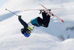 Fabian Hofer of Italy during Europa Cup Slopestyle Vogel 2014, on March 16, 2014 at Vogel, Slovenia. Photo by Urban Urbanc / Sportida.com