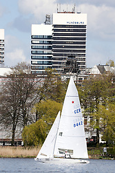 , Hamburg - SSL CITY GRAND SLAM 03.05. - 07.05.2016, Starboot - GER 8442 - Johannes POLGAR - Markus KOY - ESS -