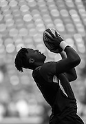 Twickenham. Great Britain.<br /> Maro ITOJE, before the start of the RBS Six Nations Rugby, England vs Wales at the RFU Twickenham Stadium. England.<br /> <br /> Saturday  12/03/2016 <br /> <br /> [Mandatory Credit; Peter Spurrier/Intersport-images]