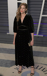 February 24, 2019 - Beverly Hills, California, U.S - Amanda Peet on the red carpet of the 2019 Vanity Fair Oscar Party held at the Wallis Annenberg Center in Beverly Hills, California on Sunday February 24, 2019. JAVIER ROJAS/PI (Credit Image: © Prensa Internacional via ZUMA Wire)