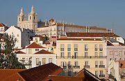 sao vicente de fora monastery miradouro viewpoint alfama district lisbon portugal