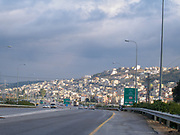 Israel, Carmel Mountain, the Arab Israeli town of Fureidis (also Freidis)