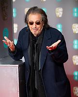 Al Pacino at the 73rd British Academy Film Awards, Arrivals, Royal Albert Hall, London, UK - 02 Feb 2020