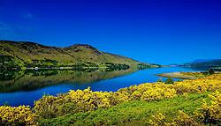 Looking up Loch Broom towards Ullapool, Ross-shire, Scotland<br /> <br /> (c) Andrew Wilson   Edinburgh Elite media
