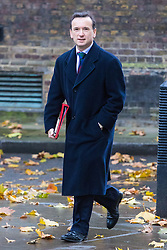 Downing Street, London, November 15th 2016.  Welsh Secretary Alun Cairns arrives in Downing Street for the weekly cabinet meeting.