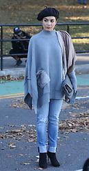"Jennifer Lopez, Vanessa Hudgens film ""Second Act"". 27 Oct 2017 Pictured: Vanessa Hudgens. Photo credit: SteveSands/NewYorkNewswire/MEGA TheMegaAgency.com +1 888 505 6342"