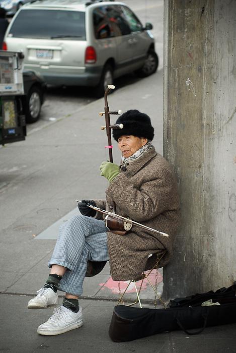Street Performer - Seattle, Washington