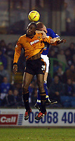 Fotball - Nationwide Division 1 - 21.12.2002<br /> Milwall v Wolves <br /> Carlton Cole - Wolves<br /> Foto: Roger Parker, Digitalsport