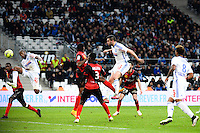 Goal Andre Pierre GIGNAC - 18.01.2015 - Marseille / Guingamp - 21eme journee de Ligue 1<br /> Photo : Gaston Petrelli / Icon Sport