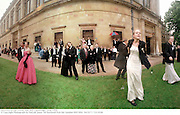 Survivors at the Trinity May Ball. Cambridge.<br />June 1998.<br />© Copyright Photograph by Dafydd Jones<br />66 Stockwell Park Rd. London SW9 0DA<br />Tel 0171 733 0108