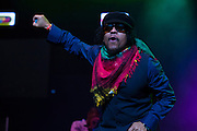 Maxi Priest opens The Biolife Sounds of Reggae show at Brooklyn's Barclays Center.