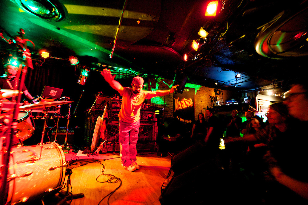 Dr. Westchesterson performs at Nectar's on Saturday night November 17, 2012 in Burlington, Vermont.
