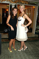 Left to right, FRANCESCA VERSACE and MARGO STILLEY at the Chain of Hope 10th Anniversary Ball held at The Dorchester, Park Lane, London on 1st November 2005.<br /><br />NON EXCLUSIVE - WORLD RIGHTS