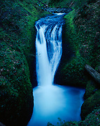 Upper Oneonta Falls, Oneonta Creek, Columbian River Gorge National Scenic Area, Mount Hood National Forest, Oregon.