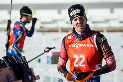 Sven Grossegger (AUT) during Men 12,5 km Pursuit at day 3 of IBU Biathlon World Cup 2015/16 Pokljuka, on December 19, 2015 in Rudno polje, Pokljuka, Slovenia. Photo by Vid Ponikvar / Sportida