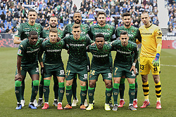 February 10, 2019 - Madrid, Madrid, Spain - Real Betis Balompie's team photo during La Liga match between CD Leganes and Real Betis Balompie at Butarque Stadium in Madrid, Spain. February 10, 2019. (Credit Image: © A. Ware/NurPhoto via ZUMA Press)