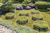 Nonin-ji Garden garden was created in the Momoyama Period and has been selected as one of the 100 famous Japanese gardens. The garden is considerable as it represents many gardening methods and forms of the era.