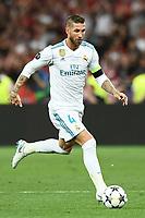 Sergio Ramos<br /> Kiev 26-05-2018 Kiev Olympic Stadium <br /> Football Champions League 2017/2018 Final Real Madrid - Liverpool Foto Matteo Gribaudi/Image Sport/Insidefoto