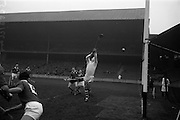 17/03/1965<br /> 03/17/1965<br /> 17 March 1965<br /> Railway Cup Hurling final  Munster v Leinster at Croke Park, Dublin. All eyes on the ball!
