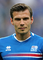 Uefa - World Cup Fifa Russia 2018 Qualifier / <br /> Iceland National Team - Preview Set - <br /> Theodor Elmar Bjarnason