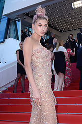 Hailey Rhode Baldwin attending the Les Filles du Soleil (Girls of the Sun) Premiere held at the Palais des Festivals as part of the 71th annual Cannes Film Festival on May 12, 2018 in Cannes, France. Photo by Aurore Marechal/ABACAPRESS.COM