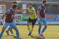Jordan Keane. Weymouth FC 1-0 Stockport CountyFC. Vanarama National League. Bob Lucas Stadium. 6.3.21