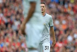 14th October 2017 - Premier League - Liverpool v Manchester United - Nemanja Matic of Man Utd - Photo: Simon Stacpoole / Offside.