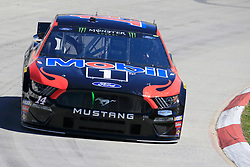 March 23, 2019 - Martinsville, VA, U.S. - MARTINSVILLE, VA - MARCH 23: #14: Clint Bowyer, Stewart-Haas Racing, Ford Mustang Mobil 1 / Rush Truck Centers during final practice for the STP 500 Monster Energy NASCAR Cup Series race on March 23, 2019 at the Martinsville Speedway in Martinsville, VA.  (Photo by David J. Griffin/Icon Sportswire) (Credit Image: © David J. Griffin/Icon SMI via ZUMA Press)