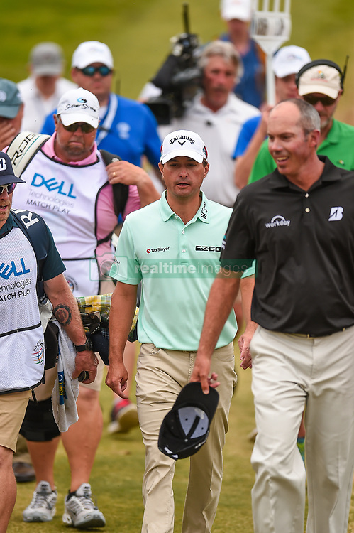 March 24, 2018 - Austin, TX, U.S. - AUSTIN, TX - MARCH 24: Kevin Kisner walks to the fairway during the Round of 16 for the WGC-Dell Technologies Match Play on March 24, 2018 at Austin Country Club in Austin, TX. (Photo by Daniel Dunn/Icon Sportswire) (Credit Image: © Daniel Dunn/Icon SMI via ZUMA Press)